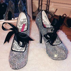 Crystallized heels